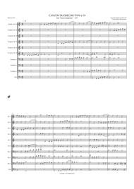 CANZON DUODECIMI TONI A 10 (brass choir) (download)