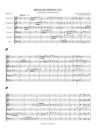 IHR MUSICI, FRISCH AUF! (download)