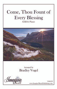 Come, Thou Fount of Every Blessing (SAB) (download)