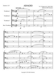ADAGIO IN Bb (trombone quartet) (download)