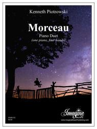 Morceau (Piano Duet) (download)