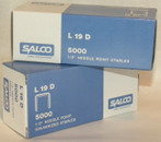 SALCO STAPLES FOR BATES TYPE  L19 AND P19 STAPLERS