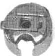 BOBBIN CASE, NO BACK LASH 2110604-301-A FOR CONSEW 290R