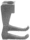 """Product - LIFTING PRESSER FOOT 1/4"""" GA 267676-016 FOR SINGER 300W203 (267676-016)"""