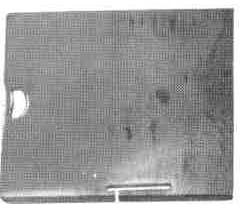 Product - BED SLIDE PLATE (BACK) 514057 FOR SINGER 212G 212U (514057)