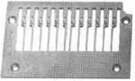 "Product - NEEDLE PLATE 14-496 1/4"" GAUGE 12 NEEDLES FOR KANSAI DFB 1412 (14-496)"