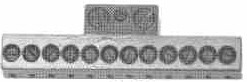"Product - NEEDLE CLAMP 12-496 1/4"" GAUGE 12 NEEDLES FOR KANSAI DFB 1412 (12-496)"