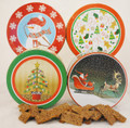 Large Holiday Cookie Gift Tins