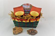 Sensational Cinnamon Cookie and Salted Pecan Holiday Basket