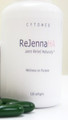 ReJenna HA 120 count bottle with softgels