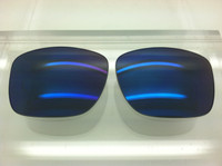 Custom Oakley Holbrook Grey with Blue Mirror Polarized Lenses (lenses are sold in pairs)