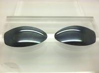 Arnette Swinger 250 (non-raised logo only) Custom Grey with Silver Reflective Coating Polarized Lenses