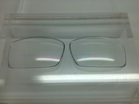 Arnette After Party 4158 - Clear Lens - non polarized (lenses are sold in pairs)