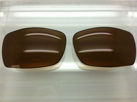 Custom Oakley Script Brown  Polarized Lenses