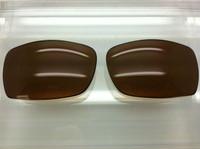 Custom Oakley Script Brown  Polarized Lenses