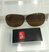 Authentic Rayban RB 2132 New Wayfarer Glass Brown Lenses SIZE 55