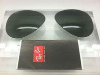 Rayban 3025 Aviator Authentic G-15 Green Lenses SIZE 58