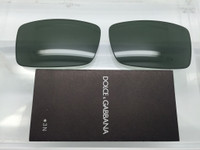 Authentic D&G 4026 Green Glass Replacement Lenses