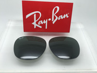 Authentic Ray Ban RB 3016 Clubmaster  Green Glass Lenses Size 49
