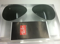 Authentic Rayban 3025 / 8307 Aviator G-15 Polarized Green Lenses SIZE 58