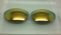 Custom Oakley Monster Dog Champagne Mirror Non-Polarized Lenses (lenses are sold in pairs)