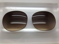 Prada SPR 27L Authentic Brown Gradient Non-Polarized Lens Pair