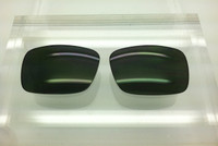 RB 2132 SIZE 55 - Custom Green Lens - Polarized (lenses are sold in pairs)