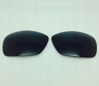 Maui Jim 237 Island Time Aftermarket Compatible Black Polarized Lenses