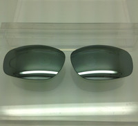 Custom Maui Jim 303 Big Island Grey with Silver Mirror Polarized Lens Pair