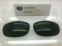 Maui Jim 120 Typhoon Custom Grey/Green Polarized Lens Pair