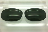Maui Jim MJ 120 Typhoon Custom Black/Grey Polarized Lens Pair