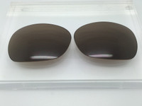 Custom Brown Non-Polarized Lens Pair SENDING IN FRAMES