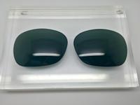 Custom Green/Grey Polarized Lens Pair SENDING IN FRAMES