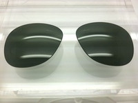 Authentic Persol PO 0714 Steve McQueen Green Polarized Crystal Glass Lenses Size 52