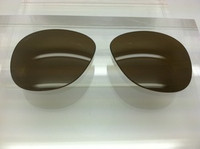 Authentic Persol PO 0649 & 0714 Steve McQueen Brown Polarized Crystal Glass Lenses Size 54