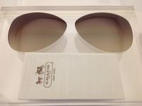 Coach Kristina HC 7003 Authentic Brown Gradient Lenses Polarized