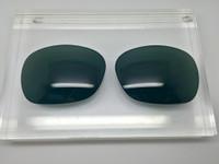 Custom Green/Grey Non-Polarized Lens Pair SENDING IN FRAMES