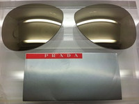Authentic Prada Sport SPS 51O Mirror Gold Replacement Lenses