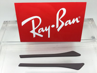 Authentic Rayban Ear Socks - Brown w/ Pointed End For the RB 3498, 3484, & 3506 ONLY