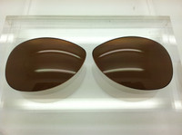 RAYBAN RB 8301 SIZE 59 Custom Brown Polarized Lens Pair