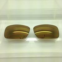 Von Zipper Fulton Custom Brown w/ Gold Mirror Non-Polarized Lenses