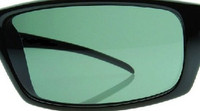 Custom Green/Grey Polarized Lens Pair SENDING IN FRAMES INTERNATIONAL