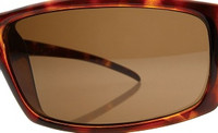 Custom Brown Non-Polarized Lens Pair SENDING IN FRAMES  INTERNATIONAL