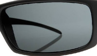 Custom Black Polarized Lens Pair SENDING IN FRAMES INTERNATIONAL