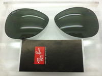 Authentic Rayban RB 3467 G-15 Green POLARIZED Lenses Size 63