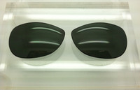 RB 3342 Warrior SIZE 60 Custom Black Non-Polarized Lens Pair (Lenses are only sold in pairs)