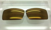 Oakley Gascan Custom Gold Mirror Non-Polarized Lenses (lenses are sold in pairs)