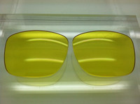 Rayban RB 4165 Custom Yellow Non-Polarized Lenses SIZE 54 (lenses are sold in pairs)