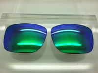 RB 4165 Custom Grey with Green Mirror Non-Polarized Lenses SIZE 51 (lenses are sold in pairs)