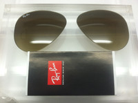 Authentic  Rayban 3025 Aviator Brown Gradient Lenses SIZE 58